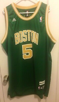 the best attitude 0f9d3 b756d KEVIN GARNETT BOSTON Celtics NBA St Patrick's Day Jersey Men XXL Pierce  Bird #5