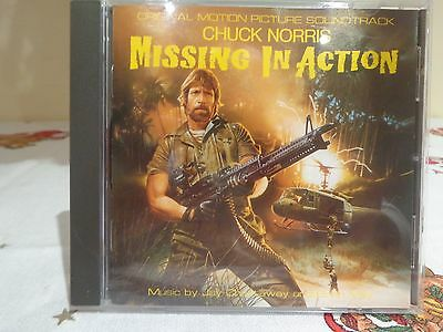 Missing In Action I-II-III original score Jay Chattaway-Brian May
