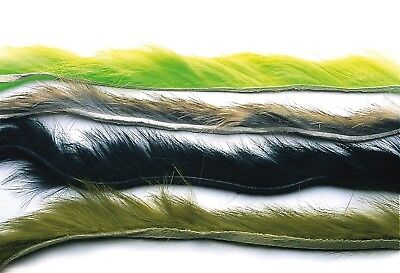 Rabbit Zonker Strips Assorted Colours  From Flymakers Fly Tying Materials