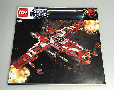 lego bauanleitung star wars 8097 slave 1 ungelocht instructions eur 7 90 picclick de. Black Bedroom Furniture Sets. Home Design Ideas