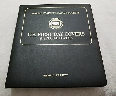 Postal Commemorative Society U.S. First Day Covers & Special Covers Book