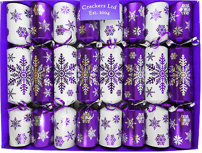 Lucky Sixpence Crackers -  Family Fun Christmas Crackers - assorted designs