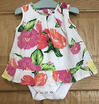 Baby Girls Ted Baker Floral Top Size 6-9 Months