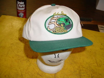 John Deere Cap Hat - NEW WITH TAGS -------- 50 SERIES COMBINES