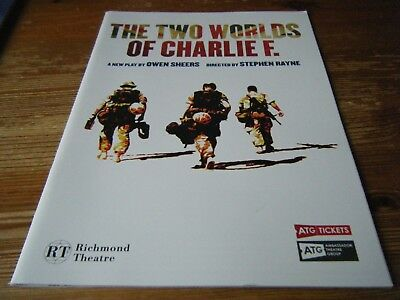 2014   Theatre  Programme  -  The  Two World Of Charlie  F -   Richmond Theatre