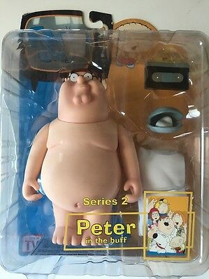 Family Guy Mezco Series 2 Peter In The Buff Action Figure NIB Collectible #2