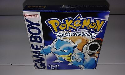 Pokemon Azul (Gb Clasica) (Caja + Interior) (Only Box)