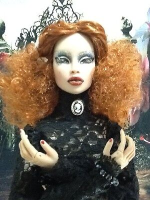 OOAK CARROT CURLY CUTE WIG for FICON NUMINA SUPERDOLL Superfrock Avantguards