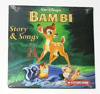 Walt Disney's Bambi Story & Songs Exclusively from Future Shop - 3 Stories  2004