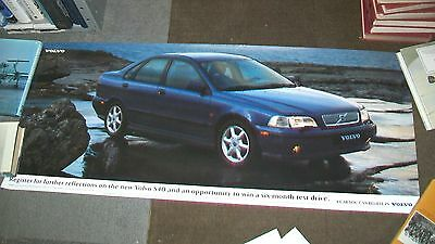Volvo S40 Car Information Request Poster 1996