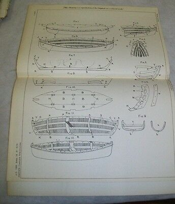 Collapsible Boat Patent. Smith, Portsmouth. 1897