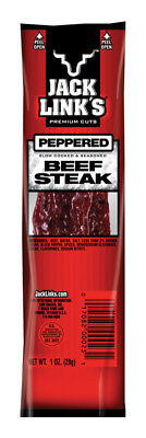 Jack Link's  Peppered  Beef Steak  1 oz. Pack