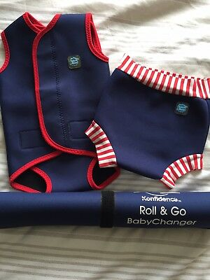 Baby Swim Happy Nappy, splash about all in one and Roll And Go Mat