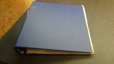 Uruguay stamp collection in 3 ring binder album on various pages
