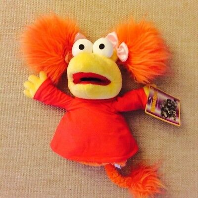 """Red Fraggle Rock Hand Puppet, Jim Henson's Forever Collection. Plush BNWT 12"""""""