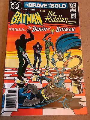 #183 - The BRAVE And The BOLD - Batman / The Riddler - DC 1982