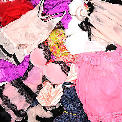 Victoria's Secret Random Lingerie Lot of 10 Mixed Styles Colors Wholesale Resale