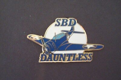 SBD DAUNTLESS AIRPLANE hat pin lapel pin