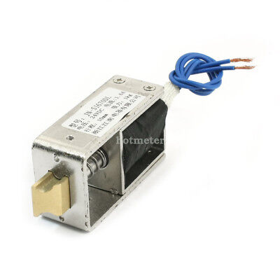 H● JF- S1670DL Stroke 1Kg Force Open Frame Actuator Door Lock Solenoid