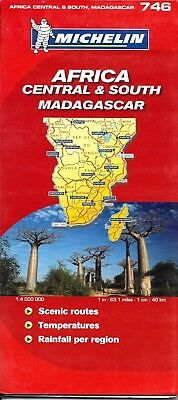 Michelin Map of Africa, Central & South, and Madagascar, Michelin Map #746