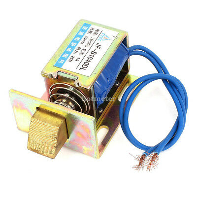 JF-1040DL DC 6V 1A 10mm 25N Open Frame Type Solenoid for Electric Door Lock 18cm