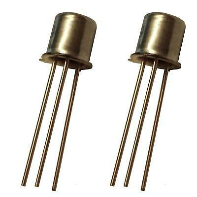 2X  2N5133 Low Noise Level Amp  Oscillator  Switching Transistors PACK OF 2