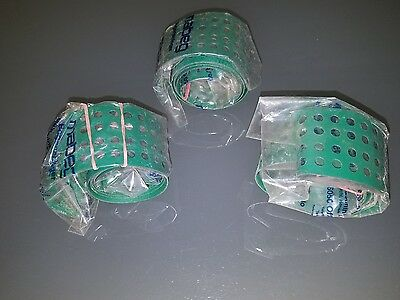 Printing press MAN ROLAND 200 series MABEG feeder belts - Lot of 3 -  Brand New