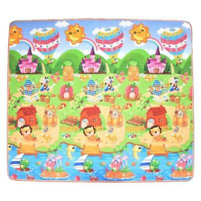 20mm Thick 2x1.8m or 3x1.8m Large Baby Play Mat Double Sided Animal Alphabet
