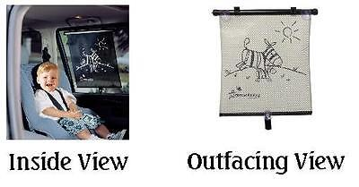 Dream Baby Adjustable Car Sun Shade Auto Window Screen Zebra