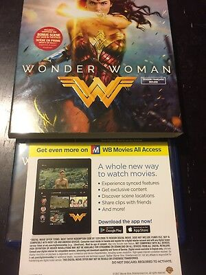 Wonder Woman Digital HD Code Only (Canada Only/Free Shipping) Justice League