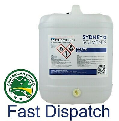Acrylic Thinner Paint Cleaner 20 Litre