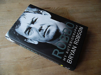 Bryan Robson signed autobiography