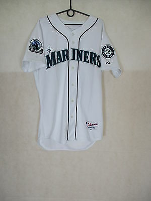 MLB Seattle Mariners Authentic Shirt Majestic 30 years Anniversary. Chest: 47''