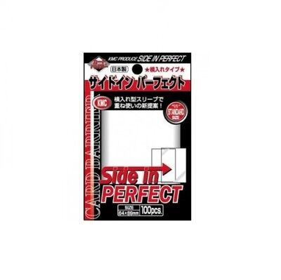 KMC Card Barrier Series Perfect Size/Fit Side In (100ct) - Standard Size