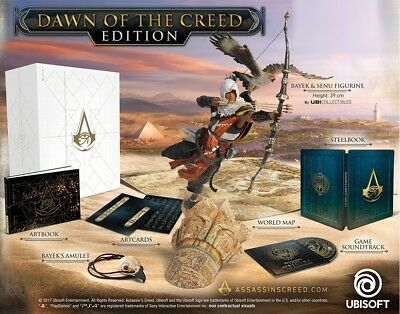 Assassins Creed Origins - DAWN OF THE CREED Limited Collectors Edition (NO GAME)