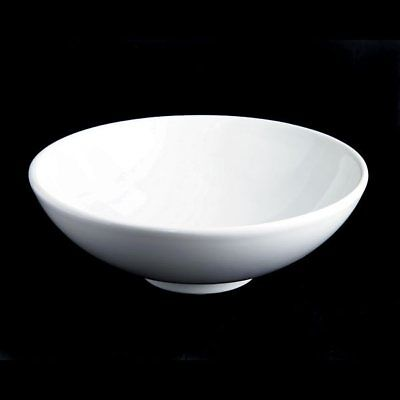 Barclay Diana Vessel Sink 4-463WH White Modern Fire Clay