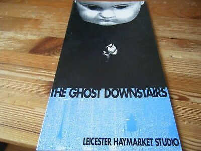 1991  -  Theatre  Programme  -  The  Ghost  Downstairs - Leicester Haymarket Vgc