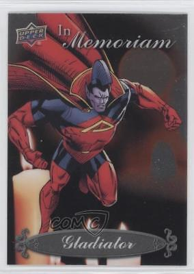 2015 Upper Deck Marvel Vibranium In Memoriam #IM-5 Gladiator Non-Sports Card b9t