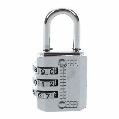 Combination Padlock Travel Suitcase Luggage Lock Password Reset Type: 3 # SS