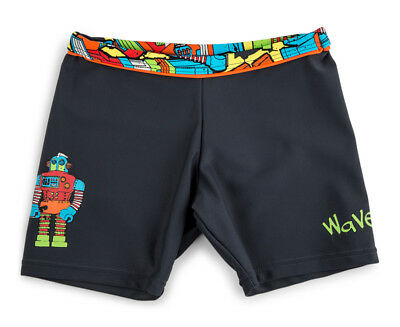 WaveRat Baby/Toddler Boys' Roger Robot Bind Trunk - Charcoal
