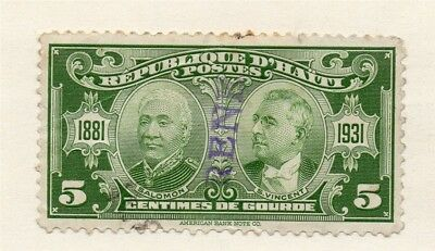 Hayti 1929-30 Early Issue Fine Used 5c. 191403