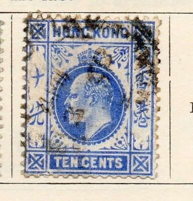 Hong Kong 1910 Early Issue Fine Used 10c. 191462