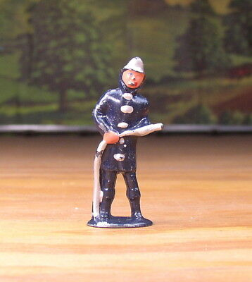 Barclay Metal Figure Little People Fireman #374 O / S Scale Train Layouts