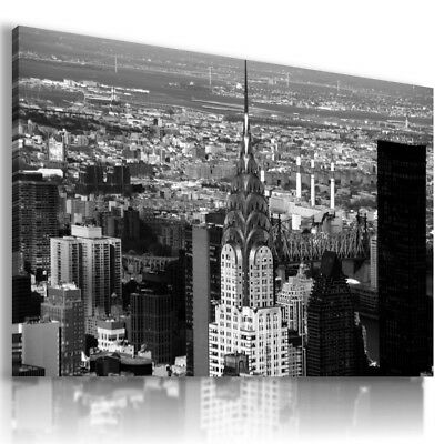 New York Manhattan Modern Canvas Wall Art Picture Large Az270 X Mataga