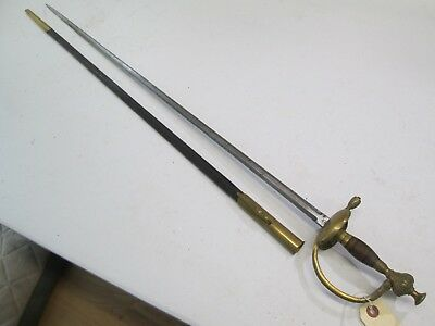 German High Quality Officers Dress Court Sword With Scabbard Berlin Maker #sy19