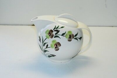 Blue Ridge Southern Potteries Sunny Spray Teapot & Lid