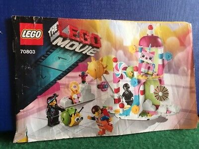 Lego The Movie Cloud Cuckoo Palace 70803 *instructions Manual Only