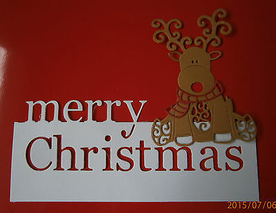 Merry Christmas Die Cuts