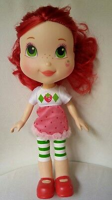 Strawberry Shortcake Large Doll Moon & Star on Face Approximately 11""