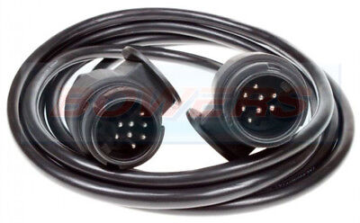 13 Pin Style 8 Pin Plug 2.5M Trailer Lighting Towing Connecting Cable Lead